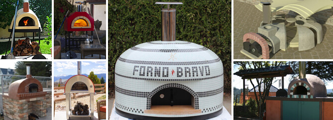Forno Bravo home wood fired pizza oven selection