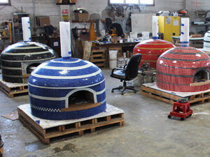 Forno Bravo USA Wood Fired Pizza Oven Facility