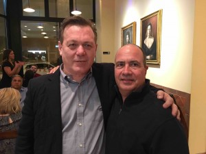 Roberto Caporuscio (with John -- he knows everybody!), who brought the essence of Naples pizza to NYC