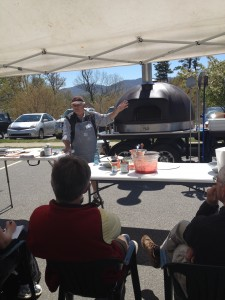 Of course, what would any bread festival be without a wood-fired pizza workshop?
