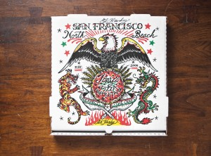 Pizza Box from Tony's Pizza Napoletana