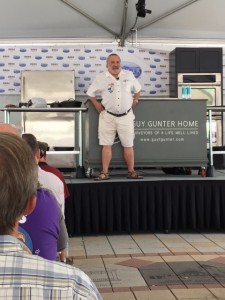 Meathead holds the stage at The Decatur Book Festival, busting food myths.