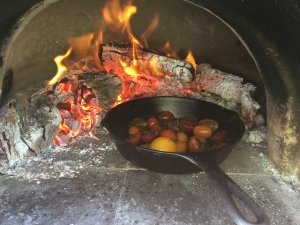 """Wood fire cooking is so primal -- what's not to like."""