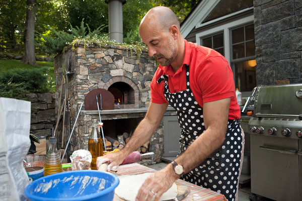 Stanley Tucci's Pizza Oven