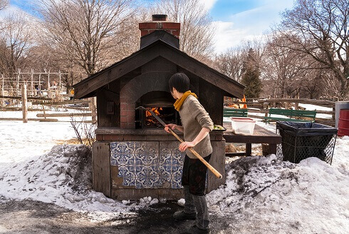 Pizza Oven in Dufferin Grove