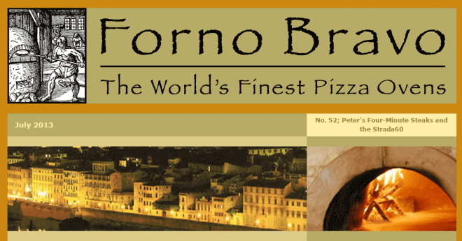 Forno Bravo Newsletter July 2013