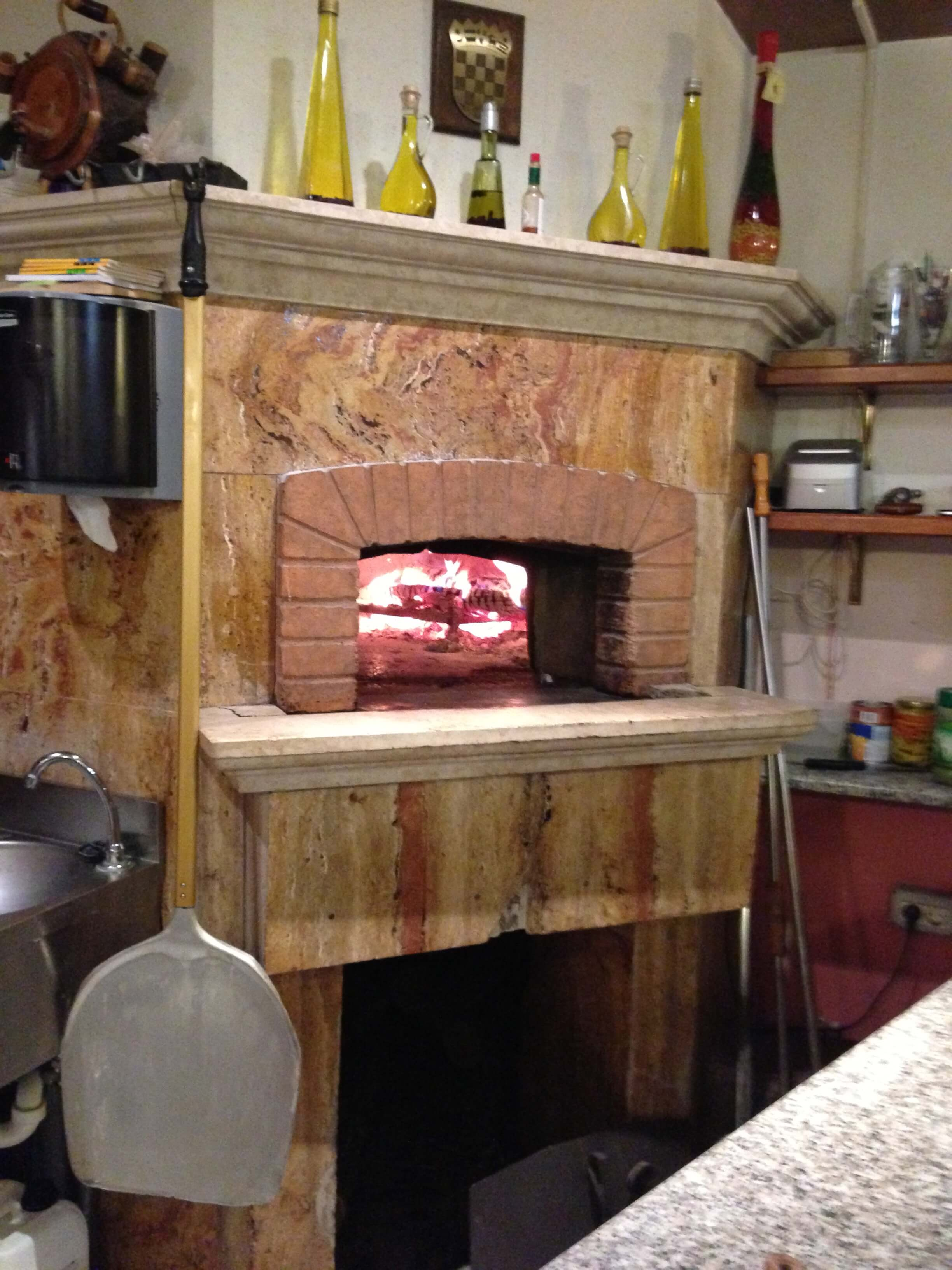 Professionale120 Ok Commercial Pizza Oven Kit Wood Or Gas