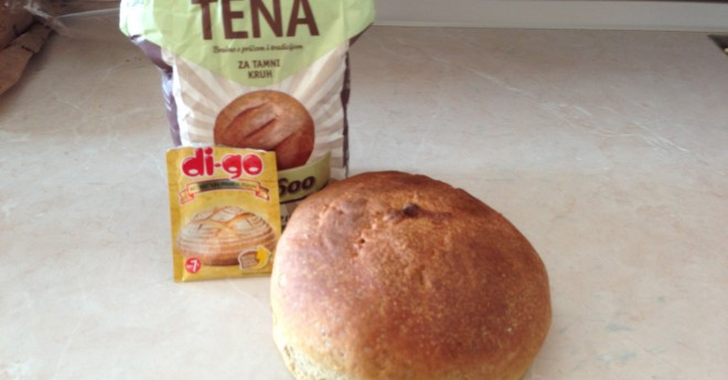 baking bread with whole wheat flour