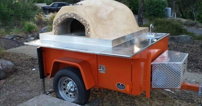 Mobile Pizza Ovens Forno Bravo Authentic Wood Fired Ovens