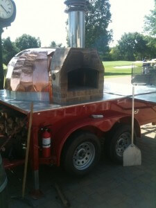 mobile pizza oven trailer