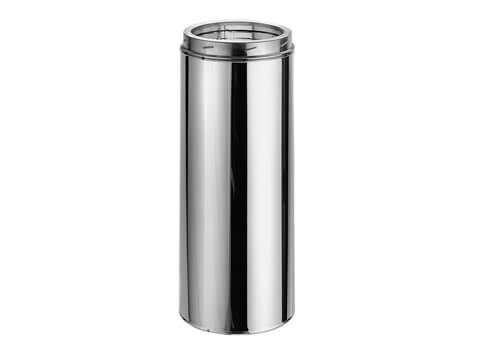 8″ DuraTech 36″ Stainless Steel Chimney Pipe, Double Wall