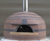 Napoli140GNS 56 inches Assembled Gas Pizza Oven
