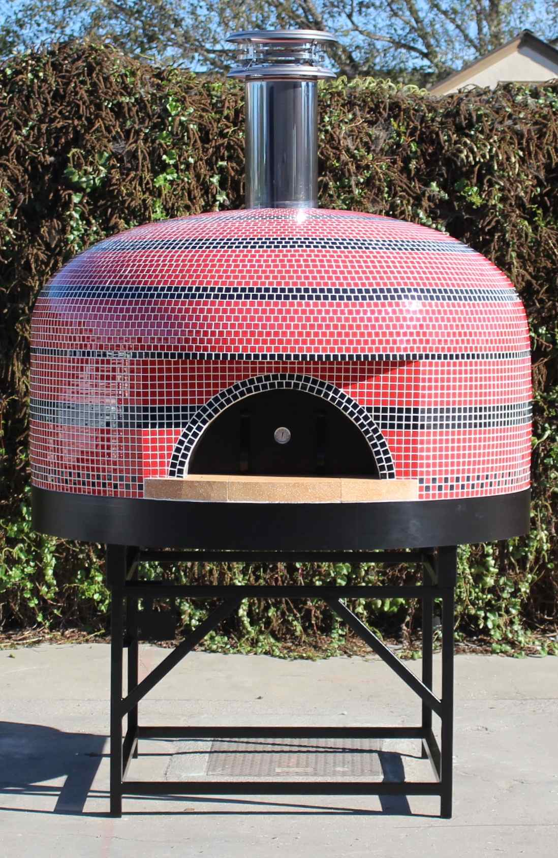 How To Install A Commercial Oven On A Metal Stand Forno