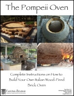 Pompeii diy brick oven plans ebook