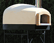 Roma120DW-48-inches-Assembled Wood Pizza Oven