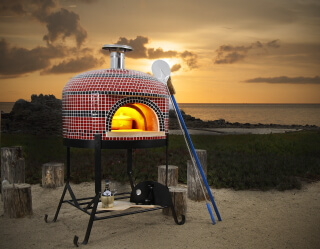 assembled pizza ovens