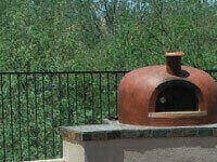 Giardino Outdoor Wood Fired Pizza Oven - Stucco