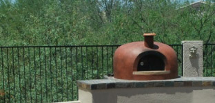 Giardino Outdoor Wood Fired Pizza Oven - Stucco 2