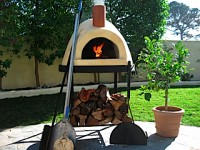 wood fired pizza oven, outdoor pizza oven, forno pizza, outdoor oven, pizza oven manufacturer