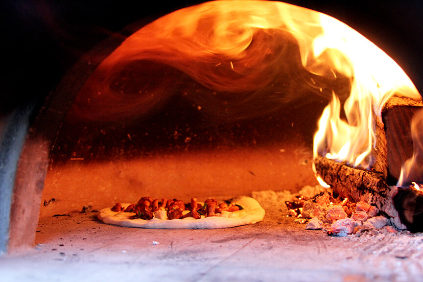 Taleggio And Golden Chanterelle Pizza - Forno Bravo. Authentic Wood Fired Ovens