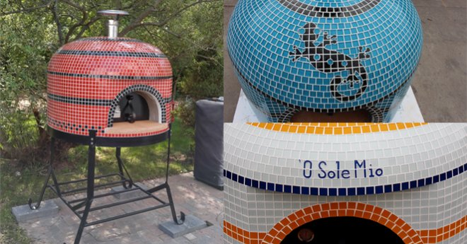 Napolino Outdoor Tiled Pizza Oven