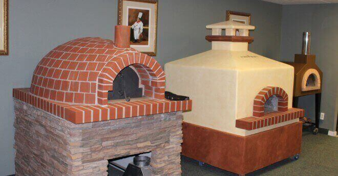 Forno Bravo's Showroom pizza oven