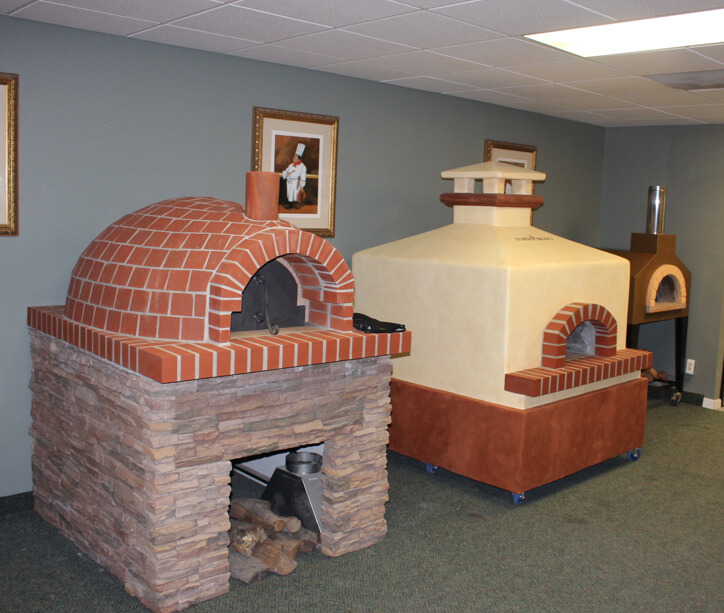 The Forno Bravo Showroom. Salinas, CA