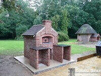 DIY Pizza Oven Brick and Gable in UK