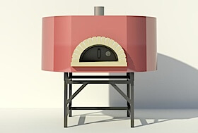 Assembled Modena2G149 pizza oven