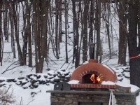 Toscana Home Pizza Oven Winter Photo Bovina NY 1