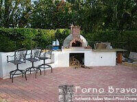 Giardino Outdoor Pizza Oven - Corner Bar