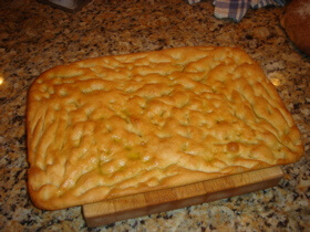 Retained Heat Cooking - Baked Focaccia Bread