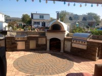 Toscana pizza oven by Forno Bravo