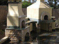 Toscana80H Home Pizza Oven and Fireplace