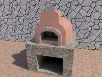 Modular Pizza Oven Assembly