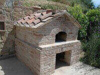 Pompeii DIY Brick Oven - Brick Gabled Finish