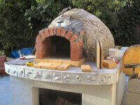 pompeii wood fired pizza oven
