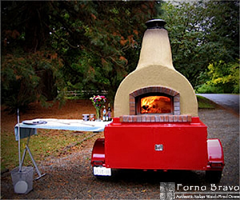 Mobile Pizza Oven