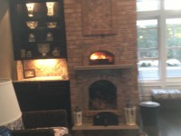 Casa Home Pizza Oven Indoors with Brick Facade - Southport NC