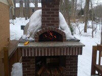 Casa Home Pizza Oven Winter Photo USA 3