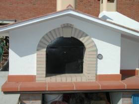 ventarch of pizza oven
