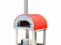 Grande C36 Portable Wood Fired Pizza Oven Cart - Red