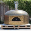 custom tile commercial pizza oven by forno bravo