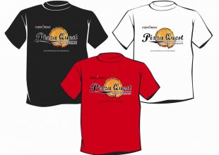 forno bravo pizza quest t-shirt