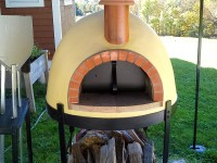 Primavera60 Wood Fired Pizza Oven with Brick Arch