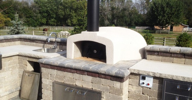 Professionale Commercial Pizza Oven Kit Install