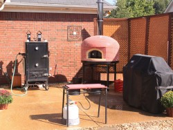 pizza oven, wood fired, forno bravo, vesuvio, outdoor living,