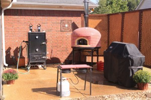 pizza oven, wood fired, forno bravo, vesuvio, outdoor kitchen,