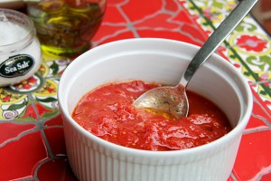 Bianco DiNapoli tomatoes whole prepared recipe