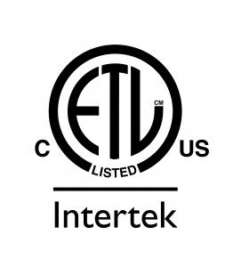 Intertek ETL Listed C US